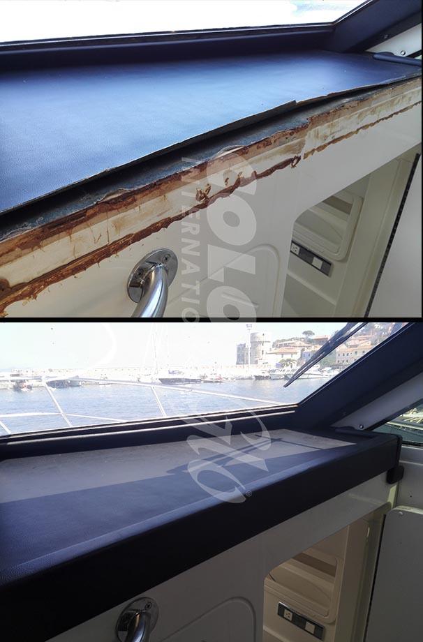 riparazione cruscotto nautica