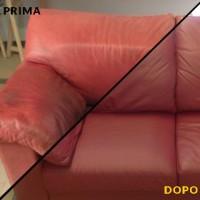 riparazione divano pelle