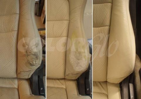 Restauro sedile auto Color Glo