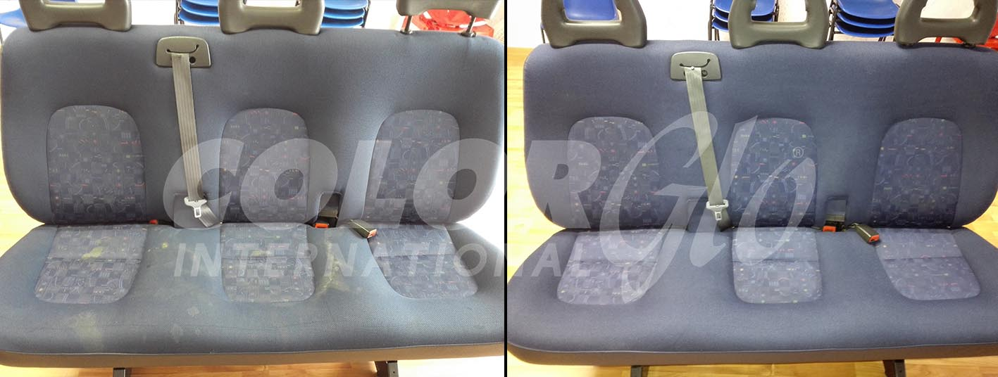 riparazione sedili tessuto